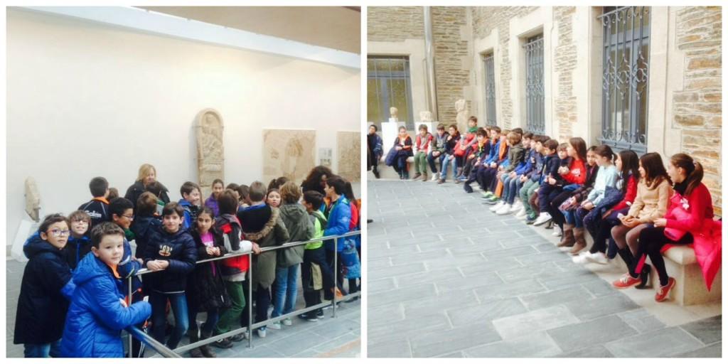 Saída ao Museo Provincial de Lugo