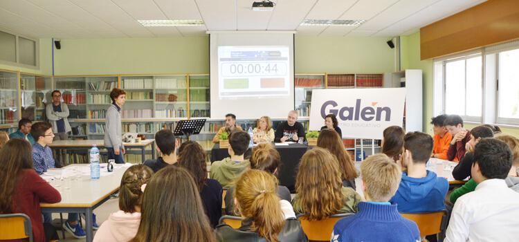Clase bacharelato - Centro Educativo Galén